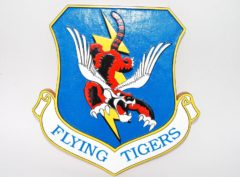 23rd Fighter Group Flying Tigers Plaque