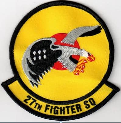 27th Fighter Squadron Patch – Sew On