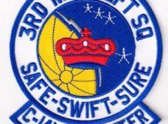 3RD MIL ALFT SQ C-141 STARLIFTER
