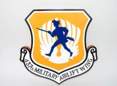 437th Airlift Wing Plaque