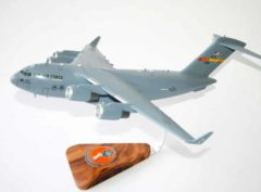 58th Airlift Squadron Moose (Altus) C-17 Model