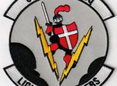 68th Fighter Squadron Lightning Lancers Patch – Sew On