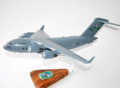 728th Airlift Squadron Flying Knights McChord AFB C-17 Model