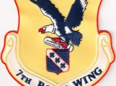7th Bomb Wing Patch – Sew On