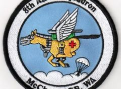 8th Airlift Squadron McChord AFB, WA Patch – Sew On