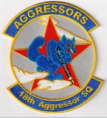 18th Aggressor Squadron Patch – Sew On