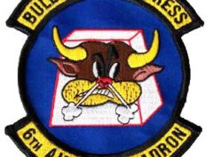6th Airlift Squadron BULLY BEEF EXPRESS Patch – Sew On