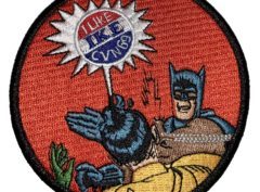 "CVN-69 ""I Like Ike"" Batman Patch – Sew On"