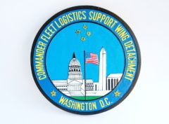 Commander Fleet Logistics Support Wing Detachment - Washington D.C. Plaque