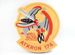 VA-174 Hell Razors Plaque