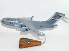 89th Airlift Squadron Rhinos (Wright-Patterson) C-17 Model