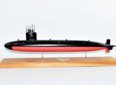 USS Tunny SSN-682 Submarine Model