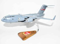 167th Airlift Squadron West Virginia ANG C-17 Model