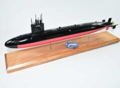 USS Finback SSN-670 Submarine Model