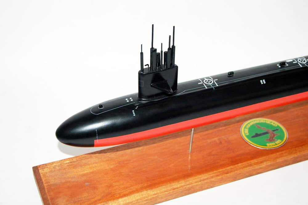 USS Hammerhead SSN-663 Submarine Model