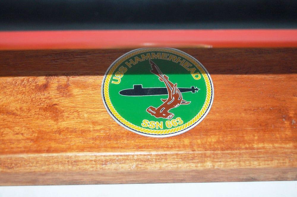 USS Hammerhead SSN-663 Submarine Model