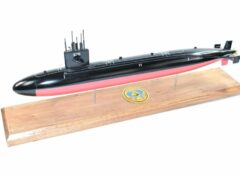 USS Billfish SSN-676 Submarine Model