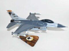 162d Fighter Squadron F-16 Fighting Falcon Model