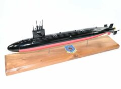 USS Guitarro SSN-665 Submarine Model