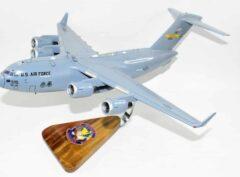 15th Airlift Squadron Global Eagles (Charleston) C-17 Model