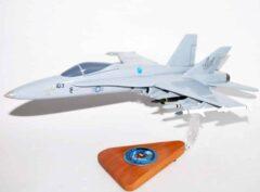 NWC China Lake F/A-18C Model