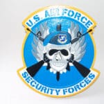 USAF Security Forces Plaque