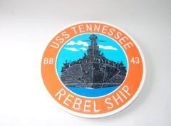 USS Tennessee BB-43 Plaque