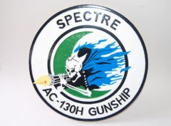 AC-130 Gunship Spectre Plaque