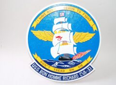 USS Bon Homme Richard CVA-31 Plaque