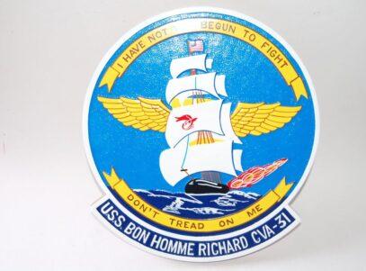 USS Bon Homme Richard CVA-31 Plaque