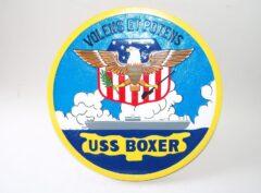 USS Boxer LPH- 4 Plaque