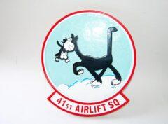 41st Airlift Squadron Plaque