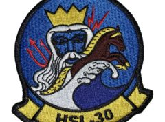 HSL-30 Neptune's Horsemen Squadron Patch –Sew On