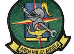 HSL-31 Arch Angels Squadron Patch –Sew On