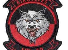 HSL-40 Airwolves Squadron Patch –Sew On