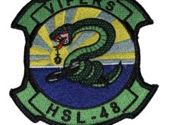 HSL-48 Vipers Squadron Patch –Sew On