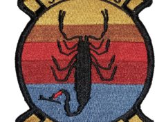 HSL-49 Scorpions Squadron Patch –Sew On