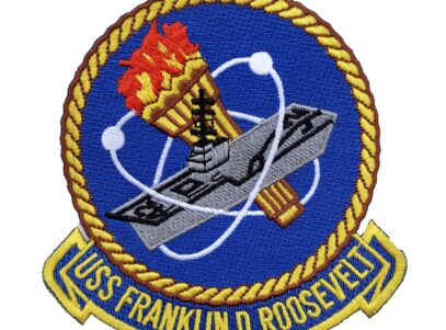 USS Franklin D. Roosevelt (CV-42) Patch – Sew On