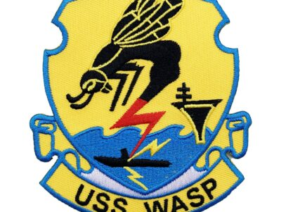 USS WASP (CV-18) Patch – Sew On