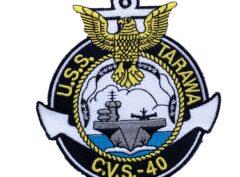 USS Tarawa (CVS-40) Patch – Sew On