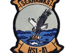 HSL-41 Seahawks Patch –Sew On