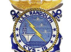 USS Randolph (CVS-15) Patch – Sew On