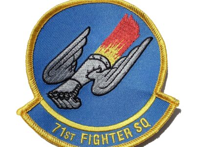 71st Fighter Squadron Patch – Sew On