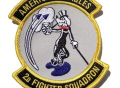 2nd Fighter Squadron American Beagles Patch – Sew On