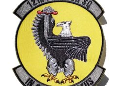 12th Fighter Squadron In Omnia Paratus Patch – Sew On