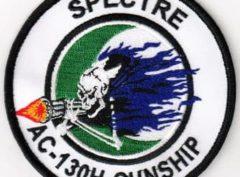 SPECTRE AC-130H GUNSHIP Patch – Sew On