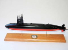 USS Pargo SSN-650 Submarine Model