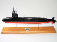 USS Queenfish SSN-651 Submarine Model