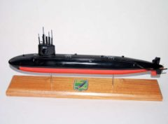 USS Puffer SSN-652 Submarine Model