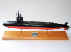 USS Sandlance SSN-660 Submarine Model